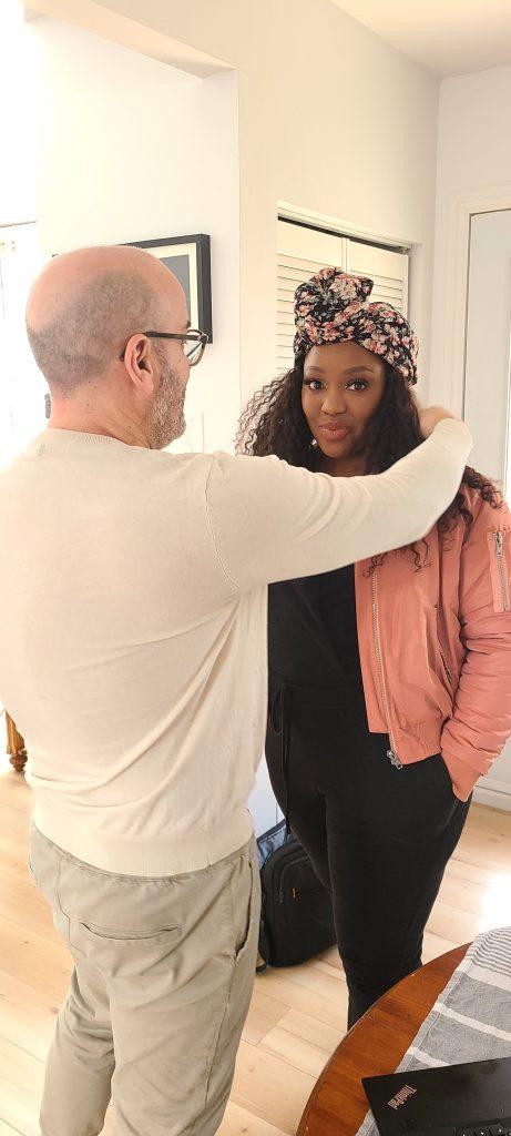 Séance photo maquillage et coiffure  Maquillage de la femme noire Montréal